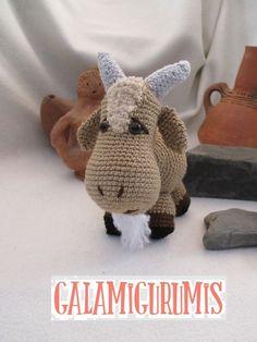 guama goat pattern. Free.