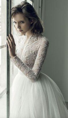 Beautiful long sleeve wedding dresses 21