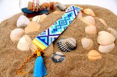 Beaded bracelet beadweaving bohemian friendshipbracelets ,miyuki sead beads ibiza aztec beadloom turquoise boho jewelry native kralenarmband door HipLikeMe op Etsy https://www.etsy.com/nl/listing/223645820/beaded-bracelet-beadweaving-bohemian