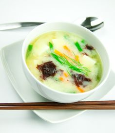Dulse Miso Soup #recipe