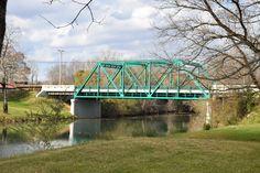 Bridge over the Wolf River between Alvin C. York home and York Grist mill. James E. Akenson jakenson@tntech.edu