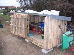 Wood Pallet Building Plans | Pallet Shed http://shedplanshome.com/shed-plans/pallet-shed-plans/