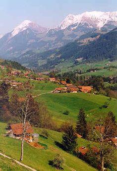 Oberwil, Switzerland - Ancestral Home of the Hilchey / Hilchie / Ueltschi Family