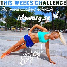 veckans träningsutmaning
