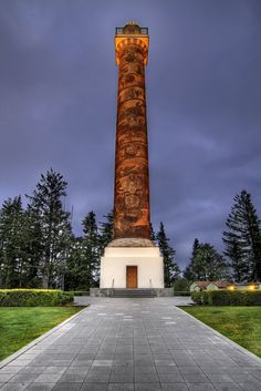 Astoria Column, Astoria, Oregon   ~ Climbed this before & took my oldest daughter, quite the workout for sure !!