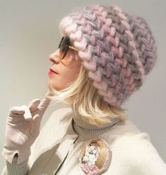 Click to view pattern for - Crochet warm hat