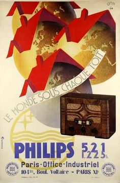 Philips - France, 30ies