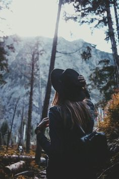 wandering outdoors