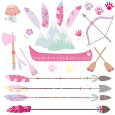 Las niñas tribales animales animales de imágenes Forest Animals, Woodland Animals, Clipart, Tribal Animals, Nativity Crafts, Animal Party, Collage Sheet, Planner Stickers, Etsy