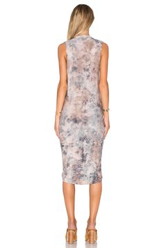 Young, Fabulous & Broke Palomo Dress in Mauve Grunge Wash | REVOLVE