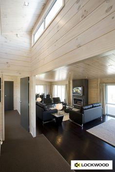 White Washed Pine, Loft House, Interior Decorating, Interior Ideas, Modular Homes, Home Reno, Dream Decor, Small Living, My Dream Home
