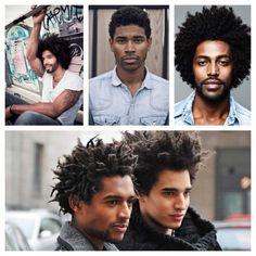 cabelos masculinos afro cachos cacheados black