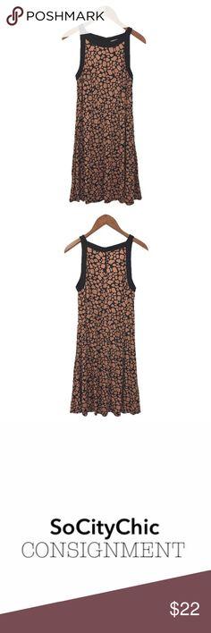 Loft Printed Skater Dress 109 44
