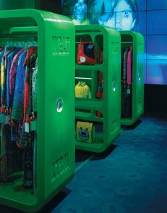 Marc Newson W. Shops, Paris #retail design