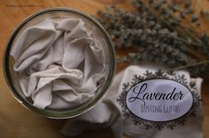 Lavender Dusting Cloths - easy to make #DIY #herbs #homekeeping #lavender