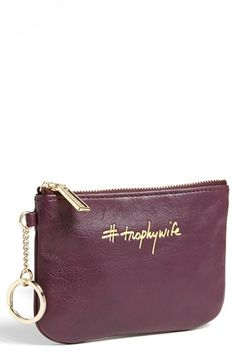 I need this!!! Rebecca Minkoff 'Cory - Trophy Wife' Pouch | Nordstrom