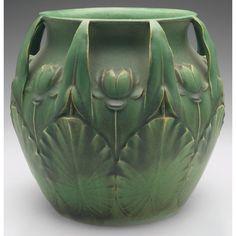 Rookwood Pottery - lily jardinere
