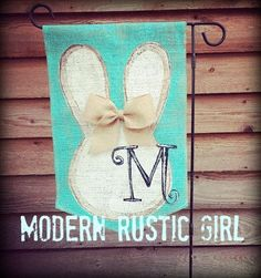 A personal favorite from my Etsy shop https://www.etsy.com/listing/266273338/spring-burlap-garden-flag-with-monogram