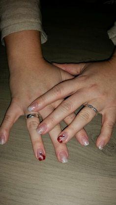 Kerstmis nagels