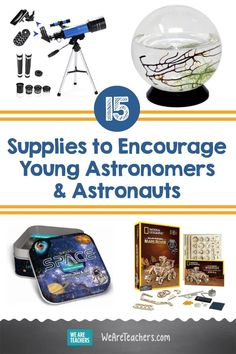 15 Out-Of-This-World Supplies to Encourage Young Astronomers Stem Learning, Student Learning, Teaching Kids, Constellation Map, Constellations, Types Of Robots, Globular Cluster, Space Books, Stem Science