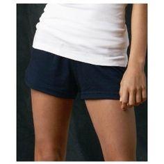 Badger Sportswear Girls Athletic Performance Cheerleader Shorts. 2202