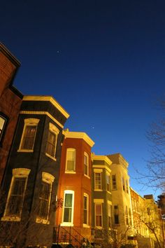 Twilight in Eastern Market.  One of my favorite places on Earth.