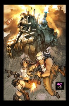Metal Slug: Deathbox Style by ~kieranoats on deviantART