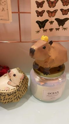 Paper Mache Crafts, Capybara, Diy Stuffed Animals, Paper Art, Cute Animals, Lettering, Desserts, Food, Things In Life