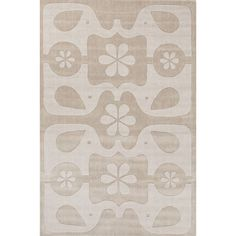 Playful Hand-Tufted Gray Area Rug