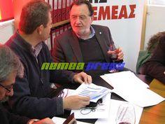 nemeapress: Ο πρόεδρος της ΛΑΕ δοκιμάζει Αγιωργίτικο!