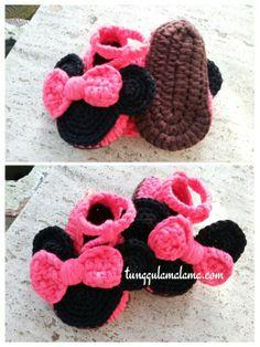 My Crochet - baby sandal