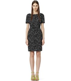 Janella Black Bubble Textured Bodycon Dress Modest Dresses f3222eedd