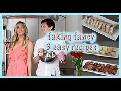 Faking Fancy: 3 Easy Appetizer Recipes!