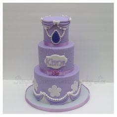 Princess Sofia birthday cake...