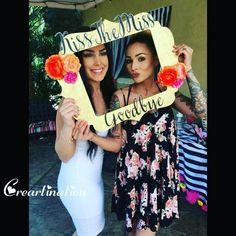 Are you a bridesmaid and planning a fun filled bachelorette for your beautiful bride to be?! Here we are with this amazing picture booth for the party! #bachelorette #bridesmaids #bridetobe #party #decor #picture #creartination