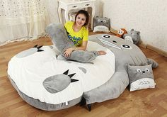Totoro and Minion Convertible Beds Are Surreal and Snug -  #beds #dispicableme #minions #sleep