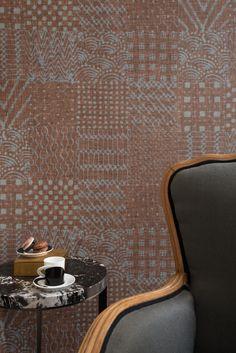 Japanese style linen wallpaper VÉTIVER by Élitis