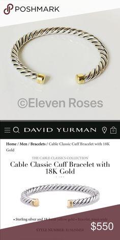 I just added this listing on Poshmark: David Yurman Sterling & 18k Gold Cuff Bracelet. #shopmycloset #poshmark #fashion #shopping #style #forsale #David Yurman #Other