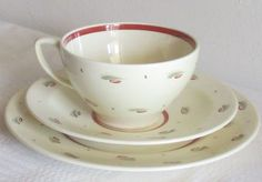 English Porcelain - SUSIE COOPER TRIO for sale in Worcester (ID:226233161)