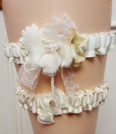 Ohio State Wedding Garter Set Silver Scarlet Crystal Bridal Belt Osu Buckeye Bling