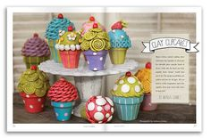 Clay Cupcakes- start with a clay pot..then, have students make the tops so they fit!  Perfect for keepsake boxes!