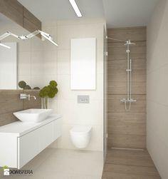 Mieszkanie Grota Roweckiego 111 - Mała łazienka w bloku bez okna, styl nowoczesny - zdjęcie od ESSA Architektura