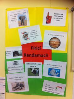 Fíricí Randamach na hIdirbliana Irish Language, Ireland, Classroom, Teaching, Class Room, Irish, Education, Onderwijs, Learning