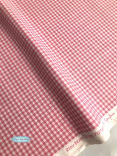 blue TINY GINGHAM FABRIC EIGHTH of an INCH 100/% cotton yellow pink red green