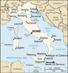 Fast Facts About Italy: Rome and the Peninsula of Italy