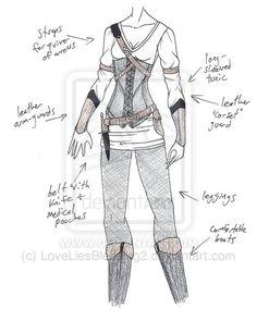 MHcd - Little Archer by LoveLiesBleeding2.deviantart.com on @deviantART