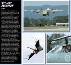 Sydney shows off. Published in issue #12, December 2006