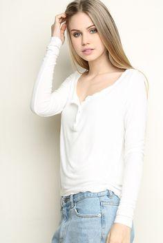 Brandy ♥ Melville | Nadia Top - Clothing