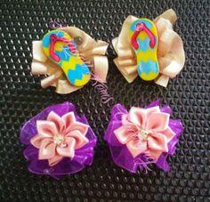 Summer ruffle bows!
