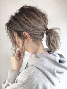 Raffron Pony Arrange _ Bruges Veil – Famous Last Words Ashy Hair, Brown Hair Balayage, Ombre Hair, Pastel Hair, Ash Brown Hair Color, Cool Brown Hair, Ash Grey Hair, Light Ash Brown, Short Grey Hair